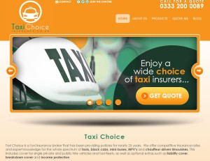Taxi Choice - Website Launch